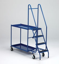 Order Selecting Trolley With Steps