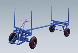 Timber Trolley - Pneumatic Tyres
